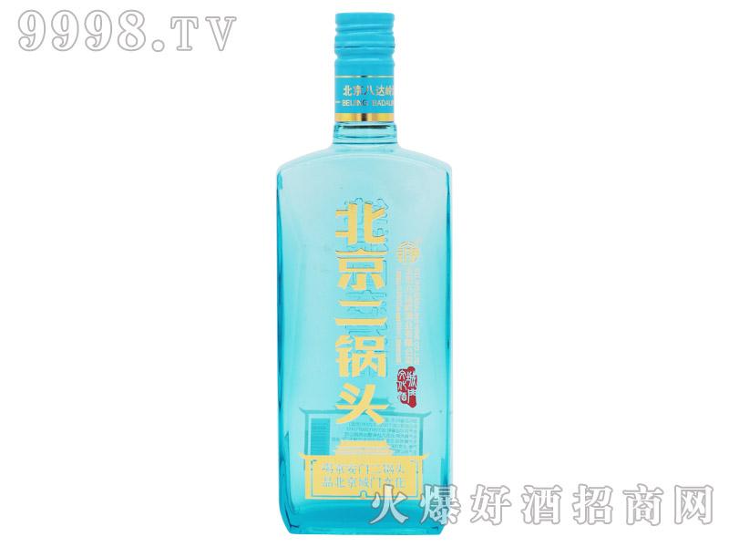 京安门北京二锅头酒蓝帽清香型白酒【42.8°500ml】