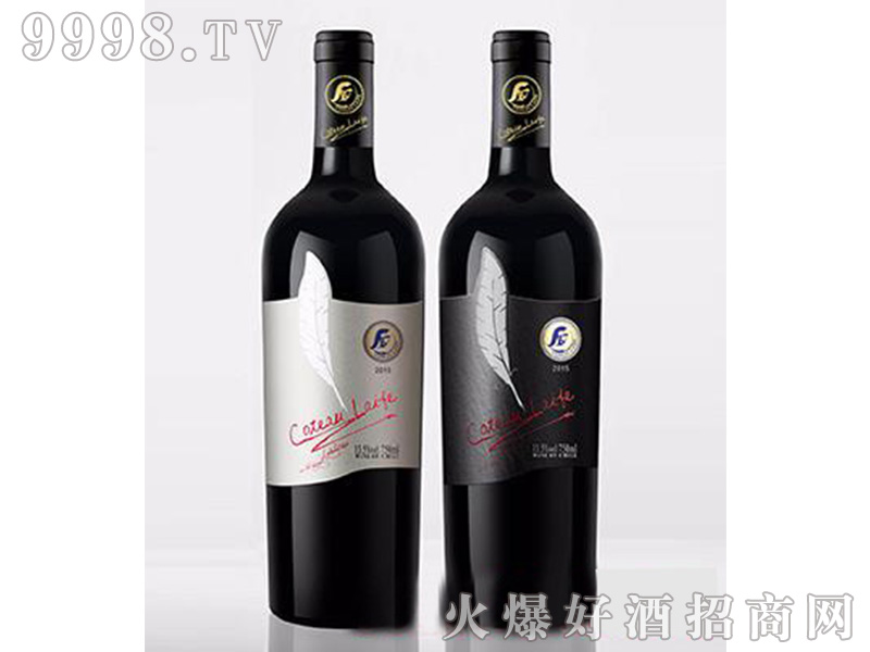 歌图人生羽毛埃迪伦(白羽毛)干红葡萄酒【13.5度750ml】