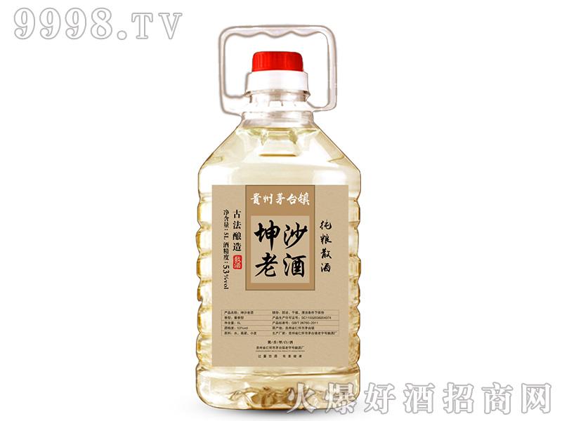 坤沙老酒酱香型白酒【53°5L】