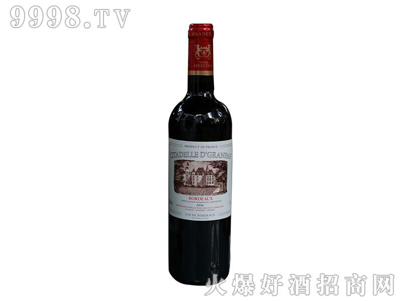 古枫城堡干红葡萄酒【13度750ml】-红酒招商信息