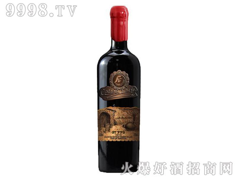 歌图人生·至荣干红葡萄酒【15.2度750ml】