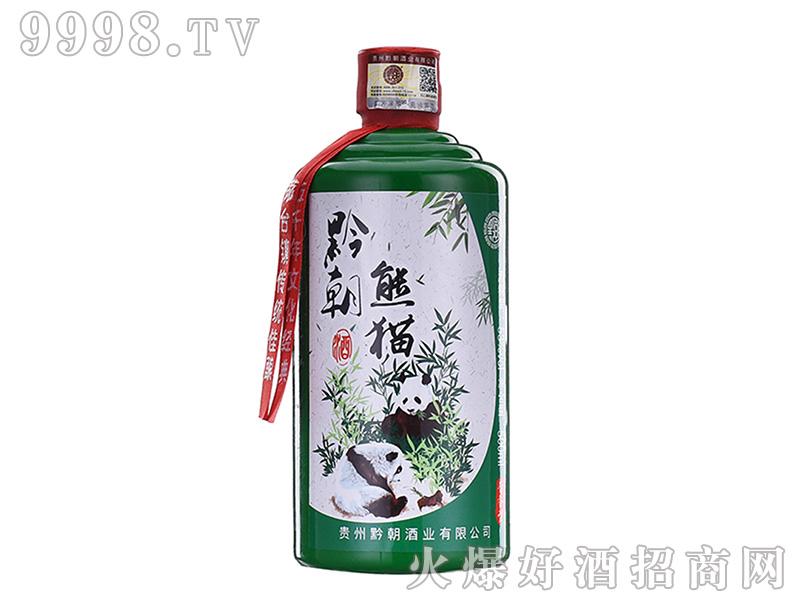 黔朝熊猫酒酱香型白酒【53度500ml】