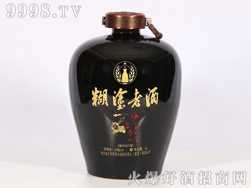 糊涂老酒·海纳百川有容乃大酱香型白酒【53°5L】