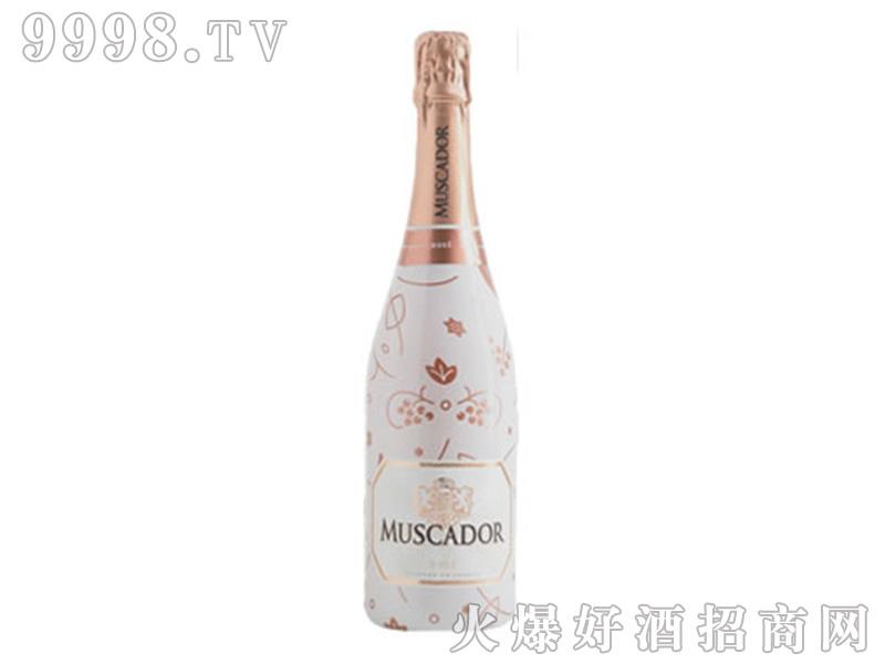 莫斯卡多桃红起泡酒【13度750ML×6】