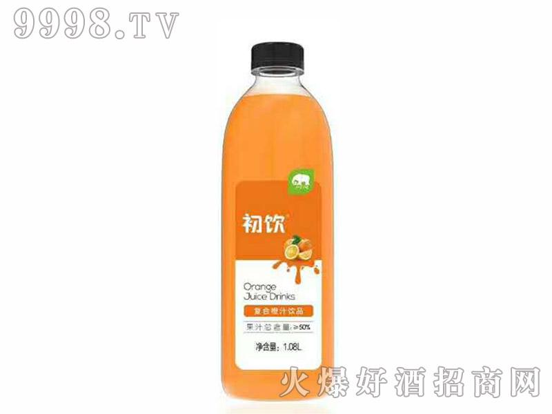 初饮复合橙汁饮品【1.08L×8】