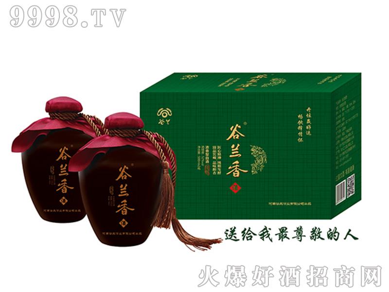 古兰春酒浓香型白酒【42度500ml×2】