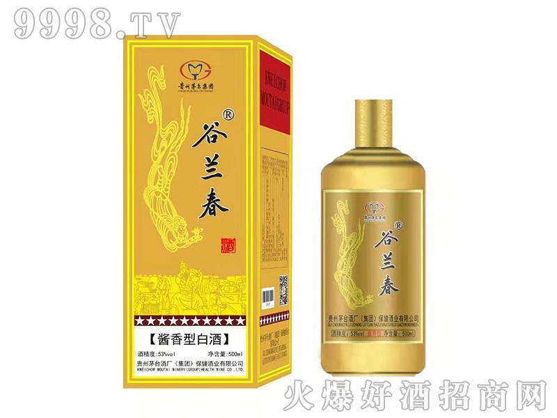 古兰春酒酱香型白酒【53度500ml】