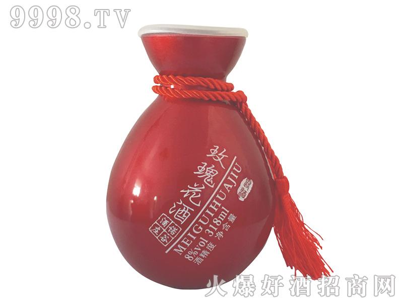诺谷酒庄玫瑰花酒【8度318ml】