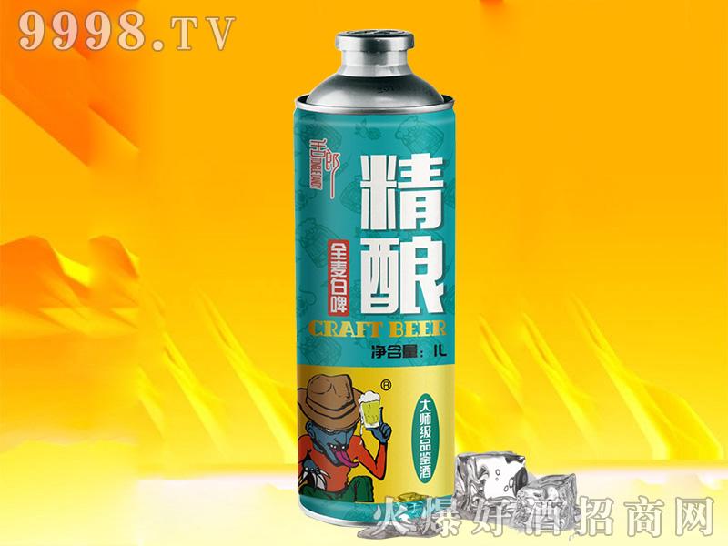舌郎精酿全麦白啤酒【11°1L】