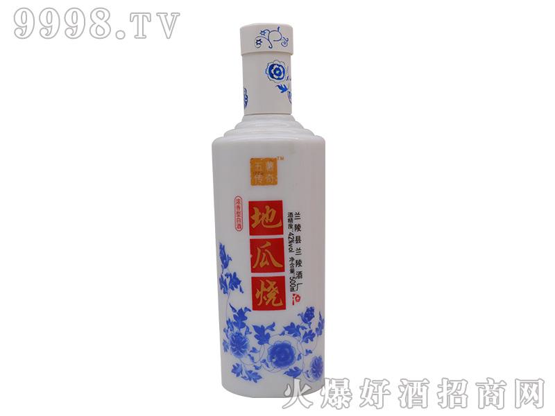 五薯传奇地瓜烧酒浓香型白酒青花瓷瓶【42度500ml】