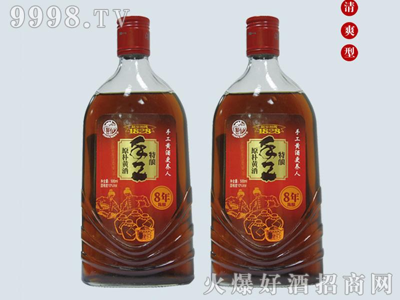 湛仙清爽半甜型黄酒【13°500ml】