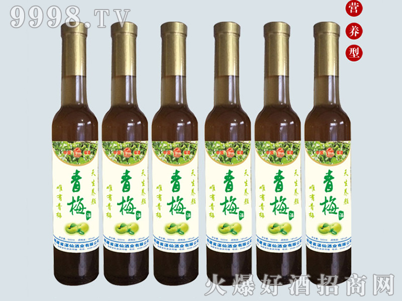 湛仙青梅果酒【10°375ml】