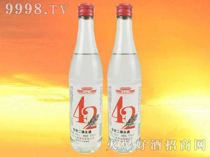 皇城门北京二锅头酒清香型白酒【42°500ml】