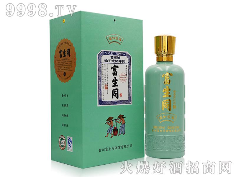 富生同福如东海酱香型白酒【53°500ml】