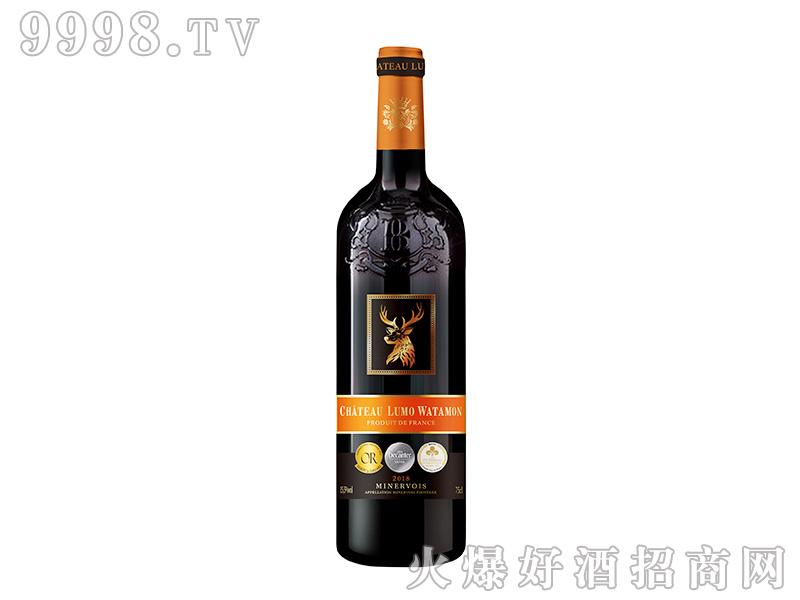 鹿穆酒庄瓦塔蒙干红葡萄酒【15.5度750ml】