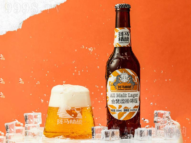 斑马精酿啤酒全麦拉格黄啤酒【11.5度330mlx6】-啤酒类信息