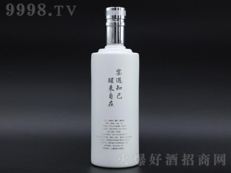 醒来宴遇酒(白瓶) 酱香型白酒【53° 500ml】