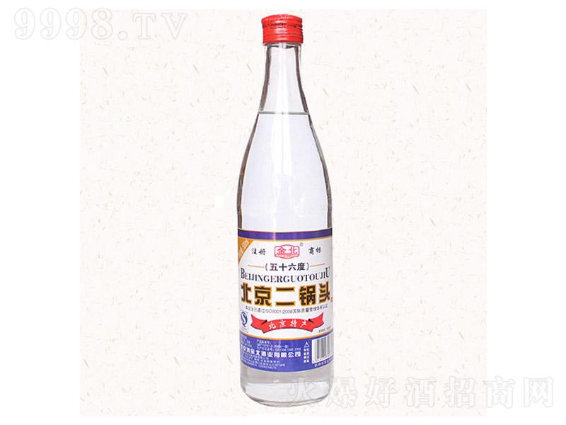 金北北京二锅头酒白瓶 清香型【56° 500ml】