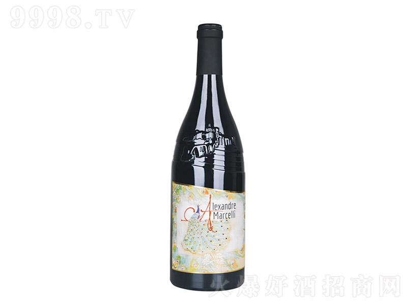 亚历山大干红葡萄酒【14.5度 750ml】