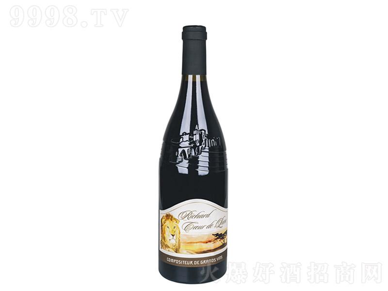 狮子王干红葡萄酒【14.5度 750ml】