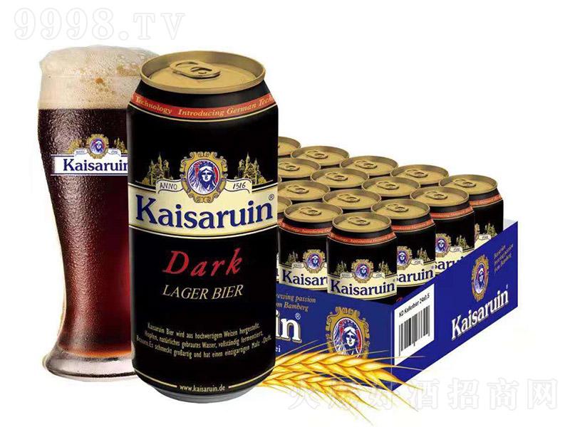 凯撒啤酒半托黑【12° 0.5L】