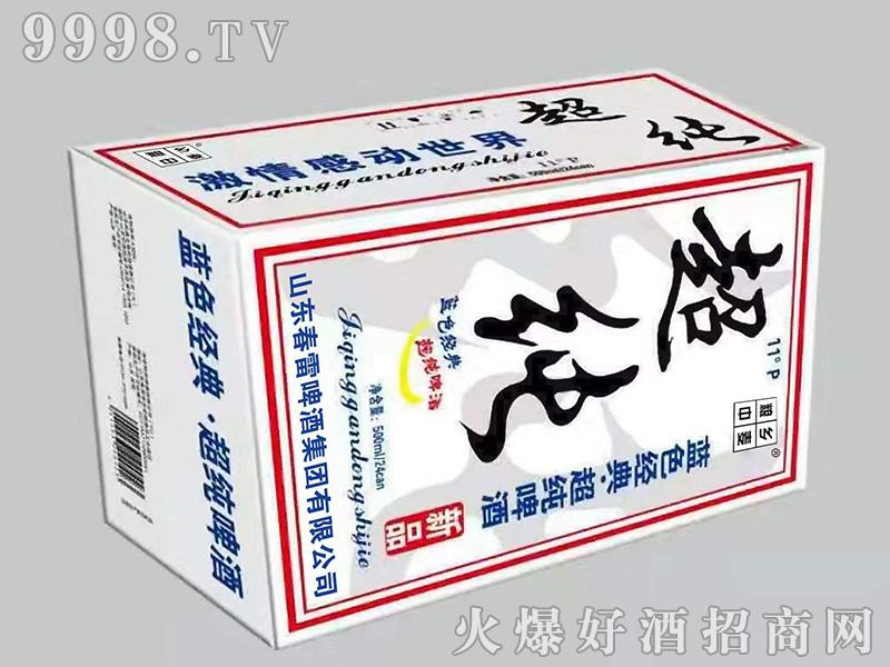 小麦王超纯啤酒【11度 500ml×24】