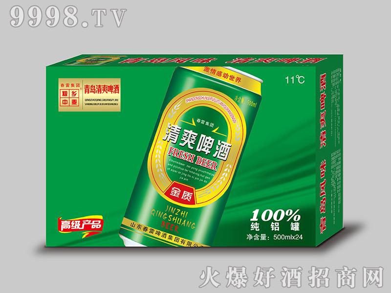 小麦王清爽啤酒【11度 500ml×24】
