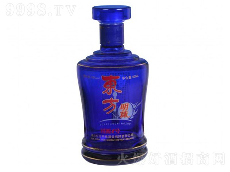 东方明珠酒国圆2号酒(裸瓶) 浓香型白酒【42° 500ml】