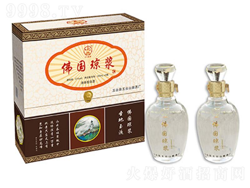 水晶佛国琼浆酒双支 清香型白酒【42° 500ml】
