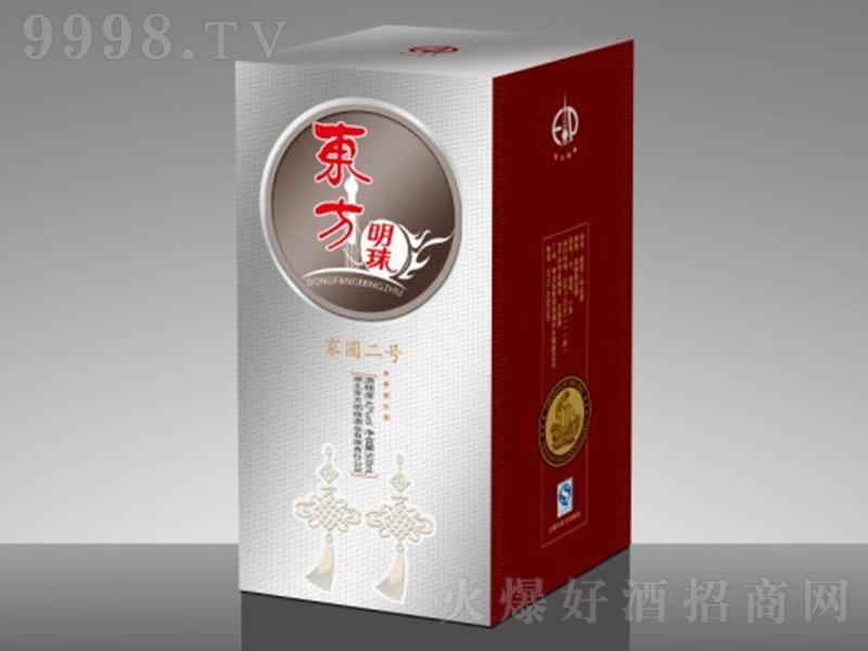 东方明珠酒家圆2号酒 浓香型白酒【42° 500ml】