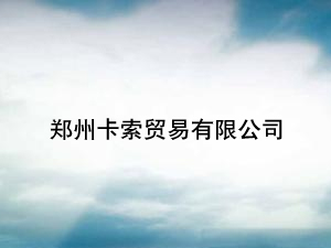 郑州卡索贸易有限公司