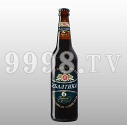 波罗的海6号黑啤酒