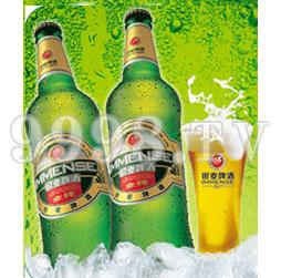 银麦金纯啤酒