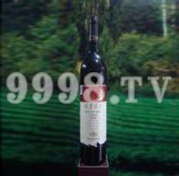 祁连美乐极品冰红葡萄酒