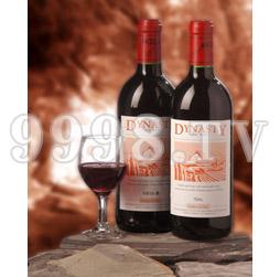 王朝七年藏酿品干红葡萄酒