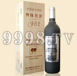 朋珠82庄园赤霞珠干红葡萄酒