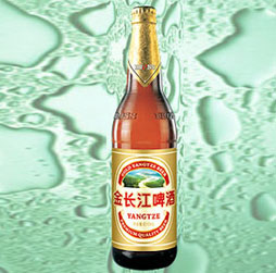 金长江大富豪啤酒