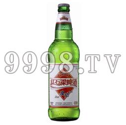 红石梁泉动啤酒(塑箱)