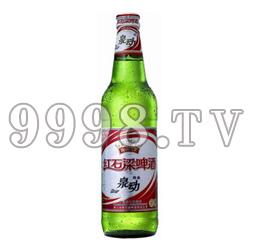 红石梁泉动啤酒(纸箱)