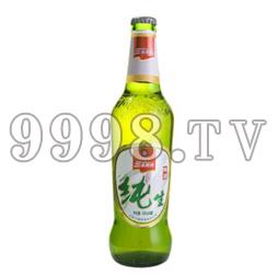 三泰纯生啤酒・绿色