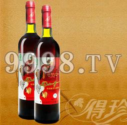 全汁红山葡萄酒(喜庆)