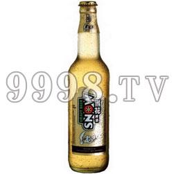 雪花金纯生啤酒
