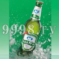 天目湖精装螺旋藻绿啤