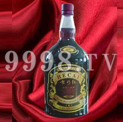 贺彩红山葡萄露酒大肚瓶