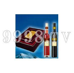 伊珠高档红木盒冰葡萄酒礼盒