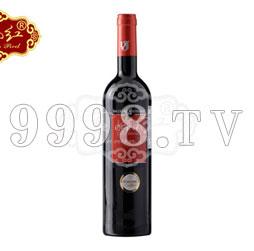 云南红库恩特红葡萄酒