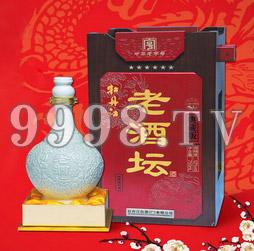 牡丹江酒典藏版六星老酒坛