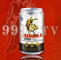 绝对牛啤酒--易拉罐