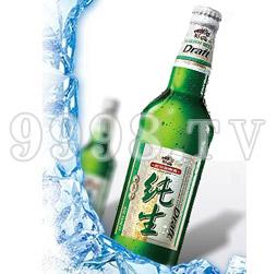 哈尔滨纯生啤酒