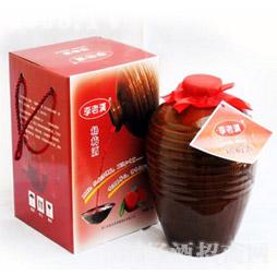 李老汉杨梅酒-酒坛4kg礼盒